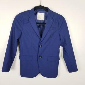 Zara boys navy blue blazer, size 10